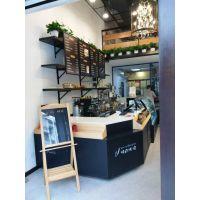 杭州展柜厂加工定制实木组装面包展示柜HL4402