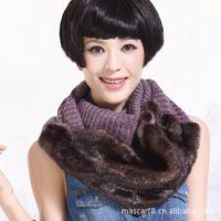 韩版套头奢华围脖 尼娜鲁鲁冬季女士保暖脖套1号N116 围巾批发
