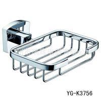【酒店】广州亿高卫浴YG-K3756 铜镀铬方形肥皂架