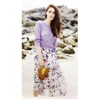 16年春装 她图风衣外套连衣裙品牌折扣店货源 女装走份