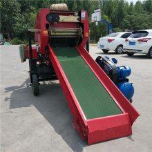 易保管饲草储备机 解决冬天饲料短缺问题 牛场必备新式打捆机