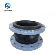安徽蚌埠设备用橡胶接头DN700PN1.6 可曲挠橡胶软接头厂家 乾胜牌