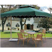 必得户外大型庭院遮阳伞铝合金材质现货销售