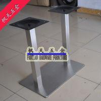 餐厅家具 家居用品配件 专业生产卡座桌脚台脚不锈钢台脚餐桌