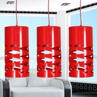 玻璃钢柱形时尚吊灯 简约欧式客厅艺术后现代卧室吸顶灯餐厅灯具