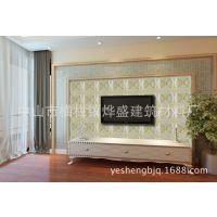 田园优雅的艺术电视背景墙 流行风格 私人订制 瓷砖背景墙0