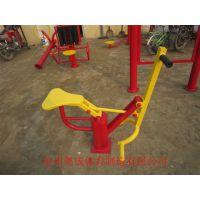山西省单人健骑机 室外健身器材价格 奥成品牌专业制造