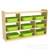 BEK38-YW222-2 分区柜生产厂 幼儿园课室收纳柜