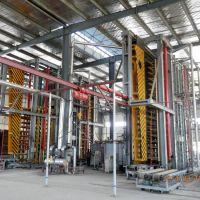 供应速生木重组材热压重竹地板压机-青岛国森专利产品