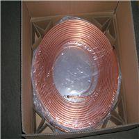宜春T2紫铜盘圆管/上饶空调用TP2盘圆紫铜管厂家低价