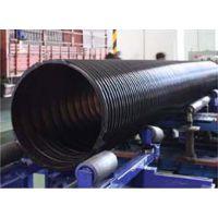 湖南 长沙 湘潭 岳阳 株洲 HDPE聚乙烯塑钢缠绕排水管、缠绕结构壁排水管、钢带增强螺旋波纹管