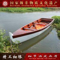 【神舟木船】木船/欧式一头尖观光木船/摄影木船/垂钓一头尖木船