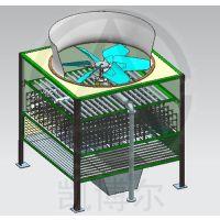 中山水轮机方型冷却塔—中国冷却塔厂家