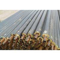 玻璃钢地埋泡沫保温管供应 预制直埋保温管价格