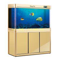 云南玻璃鱼缸,昆明风水鱼缸,亮彩水族玻璃,大型水族箱