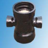 厂家促销价球墨铸铁管管件 全承四通价格 全承四通格