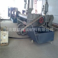 联鑫公司供应黑黄夹克管夹克管设备、挤出机、牵引机