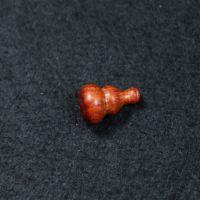印度小叶紫檀弟子珠 小葫芦木雕工艺品  1.5CM佛珠配件 厂家直销