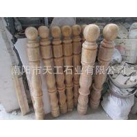 供应松香玉大理石罗马柱楼梯扶手系列 花瓶柱 空心实心可定制加工