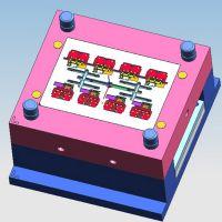 ABS接线端子塑料模具开发/UK接线端子排注塑加工/上海澳桉