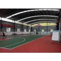 重庆塑胶篮球场硅PU材料,02221型,厚度4mm广东江门长河牌硅PU