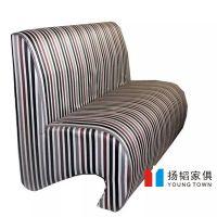 【厂家定制】新款现代沙发 餐饮软包酒吧咖啡厅皮制卡座定做批发