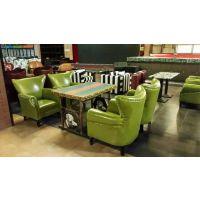 咖啡厅茶餐厅沙发生产厂家、快餐厅桌椅生产订做、餐桌餐椅卡座沙发订做厂家-实木简约-北京吉瑞斯家具厂