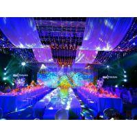 酒店婚礼舞台T台搭建灯光设计音响出租