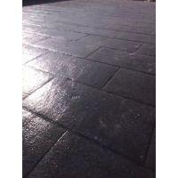 亚石地坪//承包路面装饰防滑地坪 //宿迁小区路面水泥压花地坪