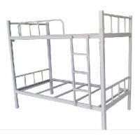 天津办公家具 职工高低床学生宿舍床 实木床公寓床上下铺