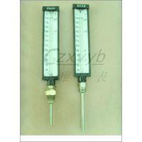 V型温度计配件直型印刷玻璃温度计三角印线表,船用温度计配套表芯