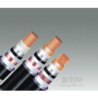 供应齐鲁牌铜芯聚乙烯绝缘聚乙烯护套交联电缆YJV42 2*185+1*95
