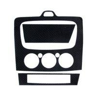 09-13经典福克斯 改装专用 CD面板贴 RS仿碳纤中控面板贴纸中控贴