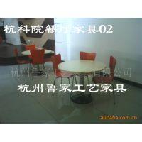 供应学校学生餐厅桌椅五星级餐厅家具---杭州科技职业学院工程