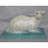 十二生肖鼠 属性老鼠 广州铸铜厂家 生肖鼠 青铜制作