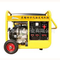 7.5kw单三相通用汽油发电机DY9000DS 美国同款 上海发电机厂家