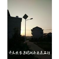 四川省广安市邻水县太阳能庭院灯小区照明灯
