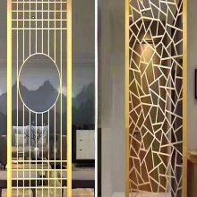 制品厂家部分工程案例 订做批发不锈钢大门套 电镀钛金门框