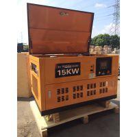 铃鹿15KW汽油发电机SHL15T