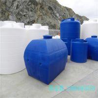 供应3吨洗水储罐 耐老化抗紫外线卧式车载水箱
