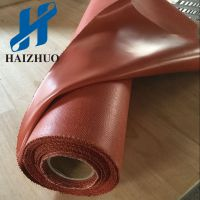 南通海卓1.5mm硅胶防火布厂家低价直销 挡烟垂壁通风口道专用