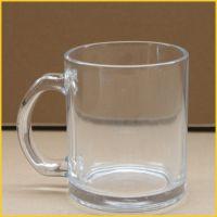广州厂家直销透明玻璃涂层杯 热转印专用 印照片用个性玻璃水杯