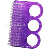 三孔 3孔指甲功能美甲工具用品 灰尘刷 粉尘刷 美甲刷 指甲刷