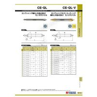 YAMAWA中国总代理板牙中心钻头 CD-Q2*90度 A型低螺旋中心钻