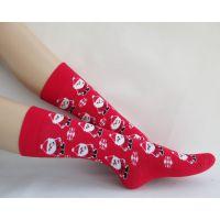 2015日系可爱卡通女袜全毛巾袜子加厚保暖卡通图案冬季袜子女包邮