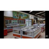 供应敞开式陈列柜 冷鲜肉保鲜展示柜冷藏柜超市鲜肉柜 商用风冷展示柜 保鲜柜