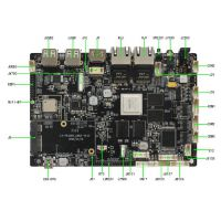 安卓主板、CNB-35-R2, 双网口、3288平台、CORTEXA17架构、双屏异显