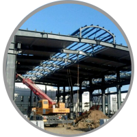 供应 《北京钢结构 钢结构生产、制作》品牌:厚德恒源