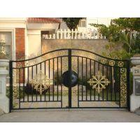 订做铁艺大门 庭院大门 花园别墅欧式门