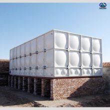 SMC模压组合水箱 镀锌搪瓷钢板水箱 拼装式水池 河北华强